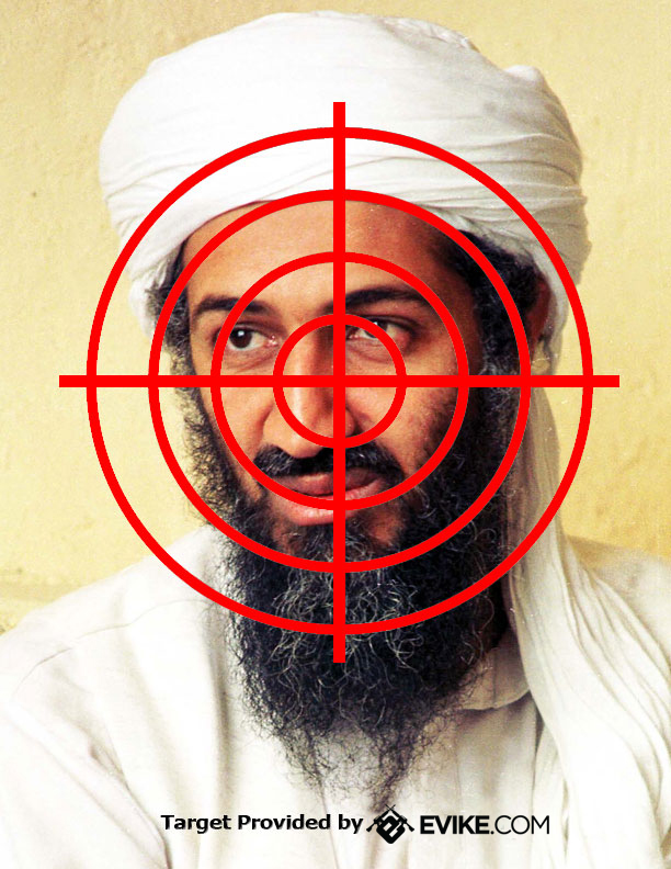 Freebies / Manuals, Targets - Evike.com Airsoft Superstore Osama Bin Laden Targets For Shooting