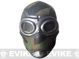 Evike.com R-Custom Fiberglass Wire Mesh Thane - Breathing Mask Inspired by Mass Effect - Woodland