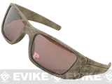 z Oakley SI Fuel Cell Special Edition - Ultrablend Desert Sage / Black Iridium Polarized