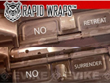 US NightVision Rapid Wraps� Dust Cover Slaps - AR-15 (Version: A** Kicker Edition)