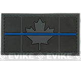 Matrix Canadian Thin Blue Line PVC Morale Patch - Subdued