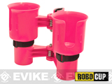 The RoboCup Portable Beverage Caddy (Color: Hot Pink)