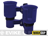 The RoboCup Portable Beverage Caddy (Color: Navy)
