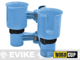 The RoboCup Portable Beverage Caddy (Color: Blue)