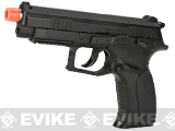 WinGun Licensed Grand Power K100 CO2 Non-Blowback Pistol with Metal Slide