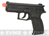 Grand Power Licensed Full Metal High Power P1 MK7 CO2 Powered Blowback Airsoft GBB Pistol by WG
