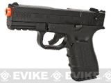WinGun Licensed ISSC M22 CO2 Non-Blowback Pistol with Metal Slide