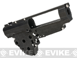 Retro Arms CZ CNC 8mm Ver.3 Gearbox Shell for AK / G36 Series Airsoft AEG Rifles - Black