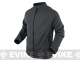 Condor Matterhorn Tactical Fleece Jacket - Graphite (Size: Small)