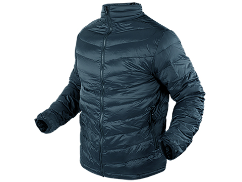 Condor Zephyr Lightweight Down Jacket - Gunmetal (Size: Large)