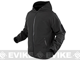 Condor Prime Softshell Hoody Jacket - Black (Size: Medium)