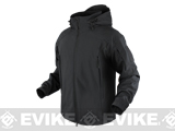 Condor Element Soft Shell Jacket (Color: Black / XX-Large)