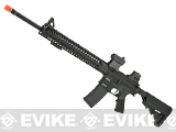 KWA Full Metal KR14 / M16 Airsoft AEG Rifle with 14 KeyMod Handguard