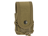 High Speed Gear HSGI Belt Mounted Covered Handcuff TACO Pouch (Color: Coyote Brown)