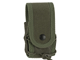 High Speed Gear HSGI Belt Mounted Covered Handcuff TACO Pouch - OD Green