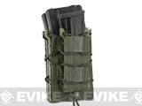 HSGI X2R/P TACO� Modular Double Rifle Magazine Pouch with Single Pistol Magazine Pouch (Color: Smoke Green)