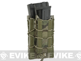 HSGI Double Decker TACO® Modular Single Rifle and Pistol Magazine Pouch (Color: MOLLE / Multicam)