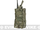 HSGI High Speed Gear Radio Pop-Up Radio Pouch (Color: Multicam / MOLLE Mount)
