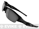 Oakley Flak Jacket Polarized - Jet Black w/ Black Iridium