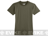 Under Armour Men's Tactical Heatgear® Compression Short Sleeve T-Shirt - Marine OD Green (Small)
