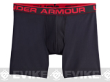 Under Armour Men's Original Series 6 BOXERJOCK® Boxer Briefs - Black (Medium)