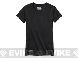 Under Armour Womens UA Tactical Charged Cotton® T-Shirt - Black (Size: Large)