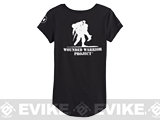 Under Armour Women's UA Wounded Warrior Project Short Sleeve - Black (Large)