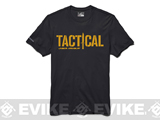 Under Armour Men's UA Tactical Logo T-Shirt - Black (Small)