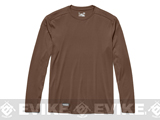 Under Armour Men's Tactical UA Tech� Long Sleeve T-Shirt - Army Brown (Small)