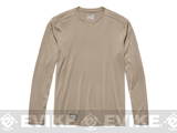 Under Armour Men's Tactical UA Tech™ Long Sleeve T-Shirt - Desert Sand (Small)