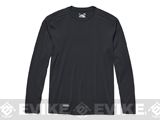Under Armour Men's Tactical UA Tech™ Long Sleeve T-Shirt - Dark Navy Blue (Medium)