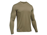 Under Armour Men's Tactical UA Tech™ Long Sleeve T-Shirt - Federal Tan