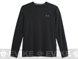 Under Armour Men's Tech Long Sleeve T-Shirt - Black (Medium)