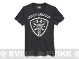 Under Armour Men's UA Black Ops Fist T-Shirt - Carbon Heather (Small)