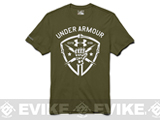 Under Armour Men's UA Black Ops Fist T-Shirt - Major (Medium)