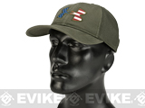 Under Armour Men's UA Big Flag Logo Mesh Hat - OD Green