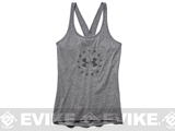 Under Armour Women's UA Freedom Tri-Blend Tank - Carbon Heather (Large)