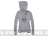 Under Armour Women's UA Freedom Tri-Blend Hoody - Carbon Heather (Size: Small)