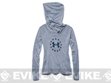 Under Armour Women's UA Freedom Tri-Blend Hoody - Indigo (Size: Medium)