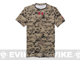 Under Armour Men's UA Freedom Desert Digi Camo Compression Shirt - Golden Khaki (Large)