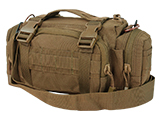 Condor Tactical MOLLE Modular Accessory MOLLE Pouch / Deployment Bag - Coyote Brown