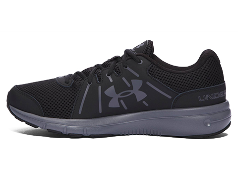 Under Armour Dash RN 2 Running Shoe - Black / Grey