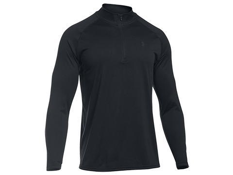 Under Armour UA Tactical Tech™  Zip Shirt - Black