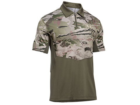 Under Armour UA Tac Sub Range Jersey - Marine OD Green/Desert Sand (Size: Medium)