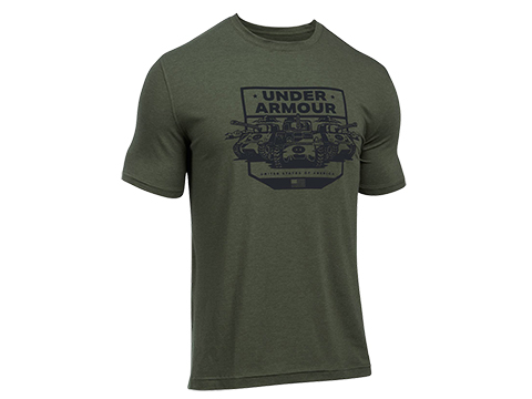 Under Armour Men's UA Freedom By Land T-Shirt - OD Green