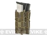 HSGI Double Decker TACO® Modular Single Rifle and Pistol Magazine Pouch Belt Mounted - Kryptec Highlander