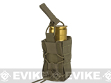 High Speed Gear HSGI TACO Single 40mm Grenade Belt Mount Pouch - Coyote Brown