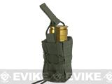 High Speed Gear HSGI TACO Single 40mm Grenade Belt Mount Pouch (Color: OD Green)