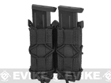 HSGI Double Pistol TACO® Modular Pistol Magazine Pouch (Color: Belt Mount / Black)