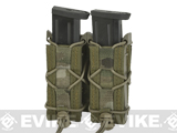 HSGI Double Pistol TACO� Modular Pistol Magazine Pouch (Color: Belt Mount / Multicam)